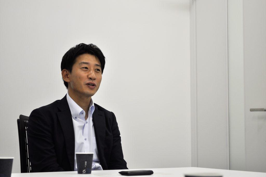 サカイ様インタビュー風景