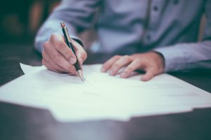 How to fill in real estate investment tax return and necessary documents together